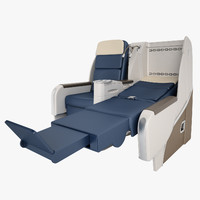 Air France Business-Class Seat 01