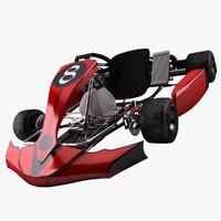 Go-Kart Red