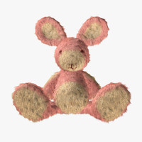 rabbit doll 3d 3ds