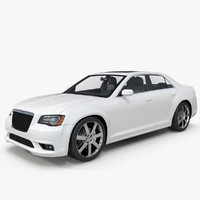 3d model 2013 chrysler 300 srt8