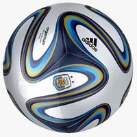 adidas argentum 2014 soccer ball 3ds