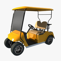 golf car obj