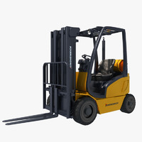 3d model of forklift industry