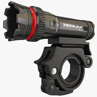 Bicycle Flashlight Redline