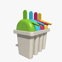 Ice Pop Maker Mold Set