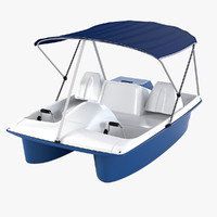Water Wheeler Pedal Boat