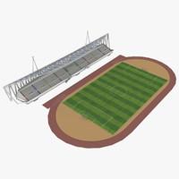 3dsmax stadium
