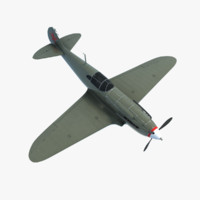 lagg-3 fighter 3d max