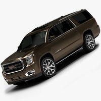 2015 gmc yukon xl 3ds