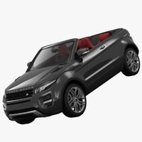 Range Rover Evoque Convertible 2013