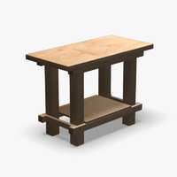 Workbench Wooden Small