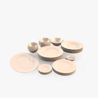plates 3d model