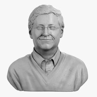Bill Gates Bust