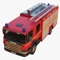 Scania Rescue Fire Truck