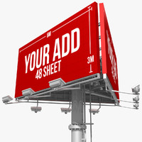 3ds max billboard 48 sheet triangles