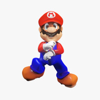 3d model super mario rigged