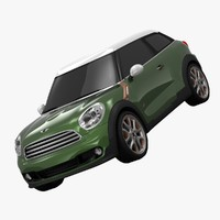 bmw mini cooper paceman 3d 3ds
