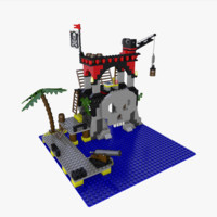 Lego Skull Island