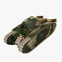 char b1 heavy vehicle 3d model
