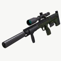 DTA SRS Sniper Rifle