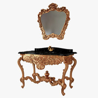 3d model mirror washstand