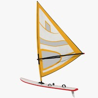 3ds max windsurfing board
