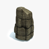 rock formation 3d max