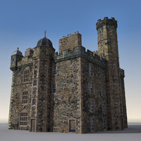 3d palace edinburgh castle