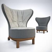 Giorgetti REA Wing Chair(1)