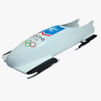 bobsled sled 3ds
