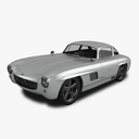 Mercedes 300SL Gullwing 3D models