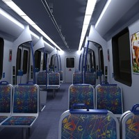 maya metro train interior