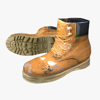 3ds max ready timberland working boots