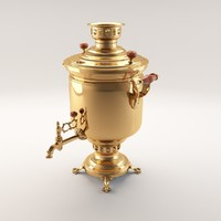 samovar water 3d model