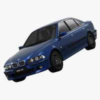 3d model bmw m5 e39 car