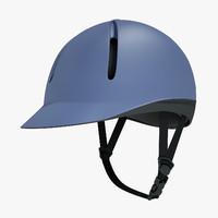 equestrian helmet 3d model