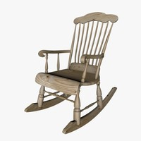 cinema4d rocking chair finnish