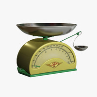 3d model analog scale
