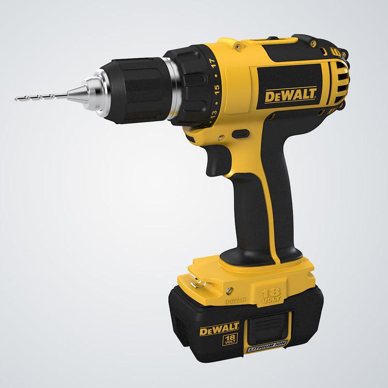 b Dewalt Bare Tool Drill Hammerdrill 0001.jpg