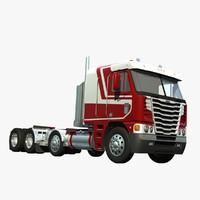 3d model freightliner argosy truck 2014