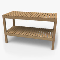 maya ikea molger bench