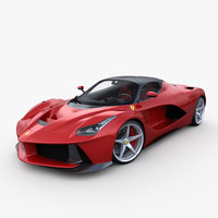 LaFerrari 3D models