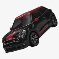 3ds max bmw mini john cooper