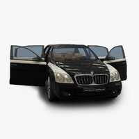 maybach zeppelin 3d max