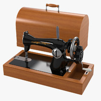 sewing machine 3d model
