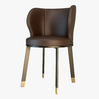 giorgetti ode chair 3d model