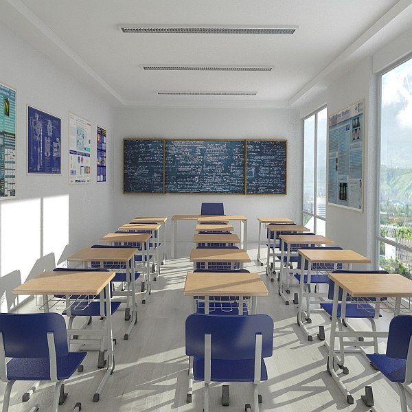 August 2014 Cpo Offers Table Jpg: 3d Classroom Render 2