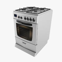 3d stainless steel oven