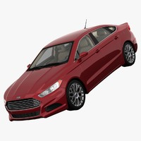 Ford Fusion S FWD 2013