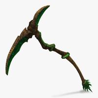 max scythe weapon
